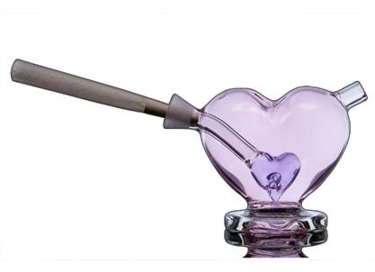 Heart shaped joint bubbler