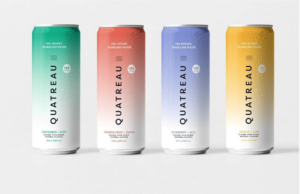 Canopy Growth's New Sparkling Water, Quatreau